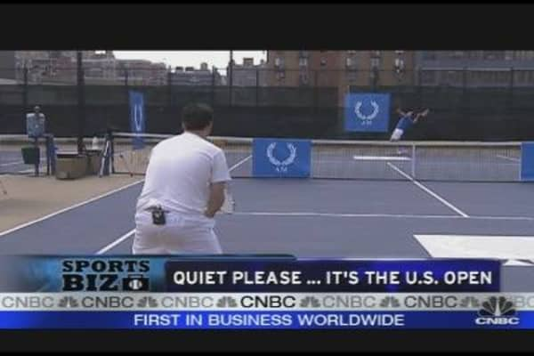 Rovell Takes on World's #2 Ranked Tennis Player
