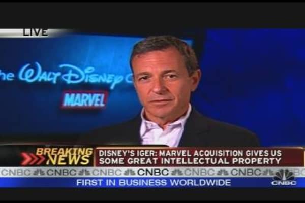 Disney CEO on Marvel Entertainment Acquisition
