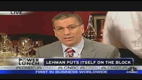 Lehman On The Block
