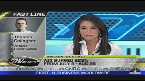 Analyze This: AIG