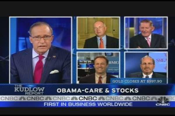 Picking Up Health Care Stocks
