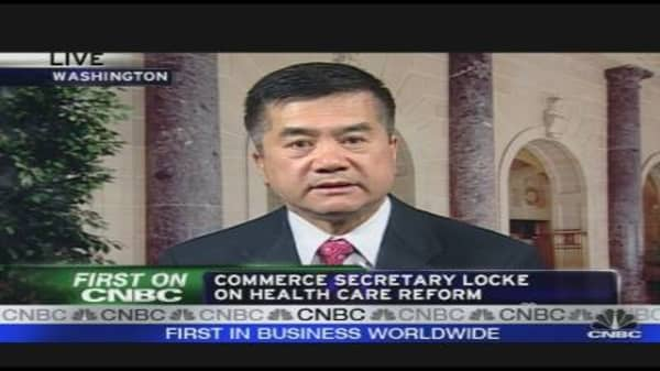 Commerce Secretary on Health Care Reform