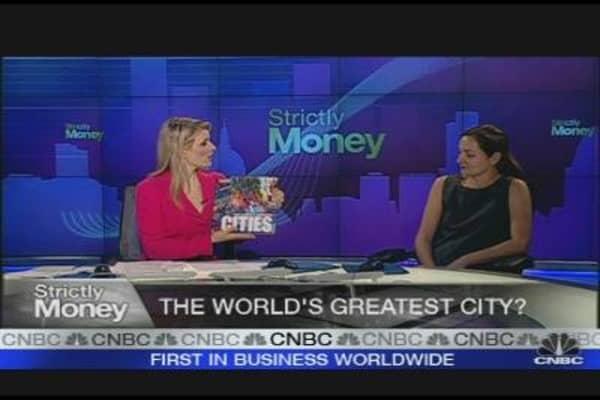 New York Beats London as 'Best City'