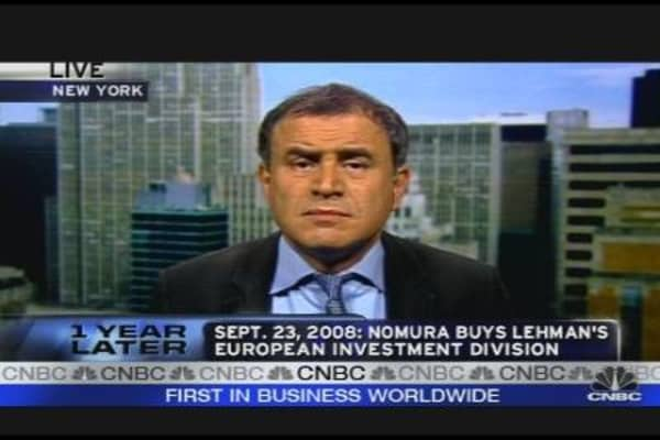 Roubini on Lehman, Global Financial Crisis