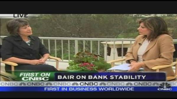 Bair on Bank Stability
