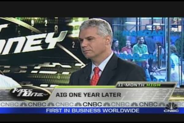 AIG One Year Later