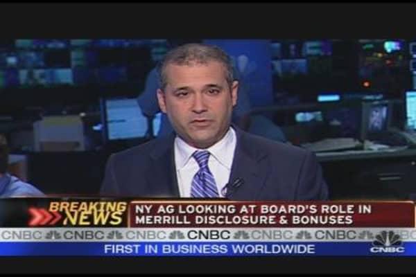 Cuomo Subpoenas Five BofA Directors