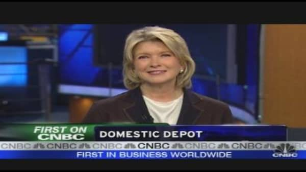 Martha Stewart Partners With Home Depot