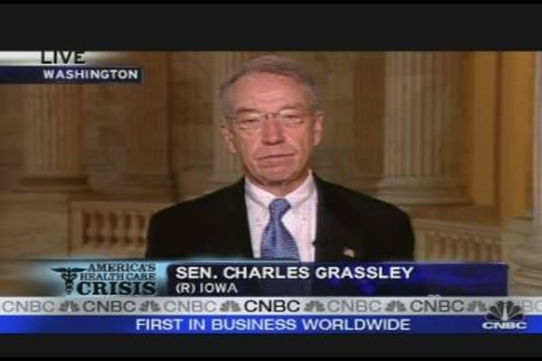 Grassley on Health Care Reform
