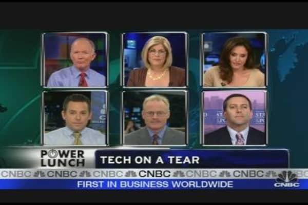 Tech on a Tear