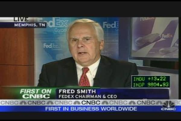 FedEx CEO Talks Earnings