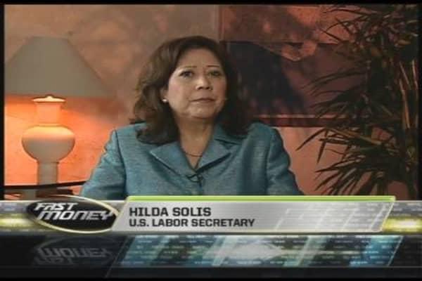 Labor Sec. Hilda Solis, Pt. 1