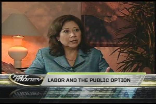 Labor Sec. Hilda Solis, Pt. 3