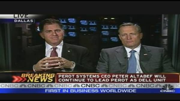 Dell to Acquire Perot Systems