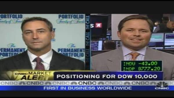 Positioning for Dow 10,000