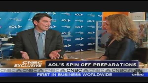 AOL's Spin Off Preparations