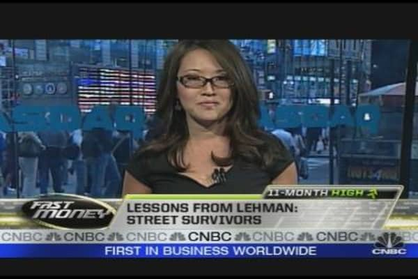Lessons from Lehman