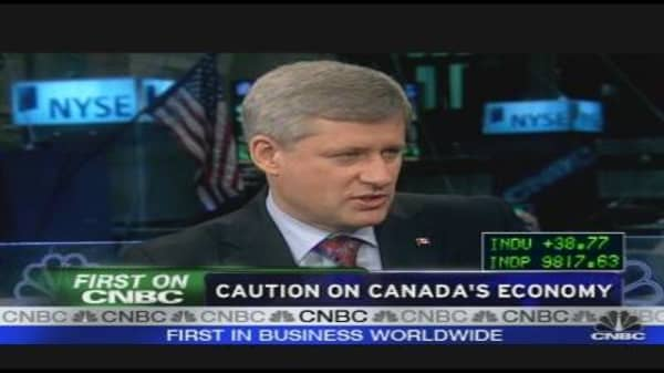 Canadian PM on Economy