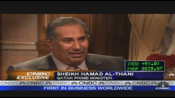 al-Thani on Oil, Markets