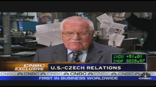 Czech President Sounds Off
