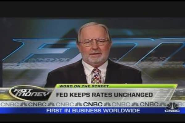 Fed Keeps Rates Unchanged