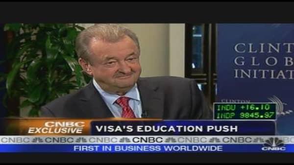 Visa's Education Push