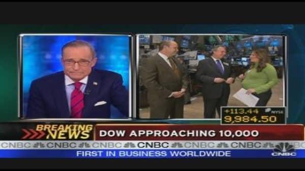 Dow Approaching 10K