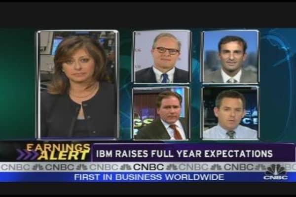 Google, IBM and the Big Tech Earnings