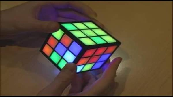 Demonstration of Rubik's TouchCube