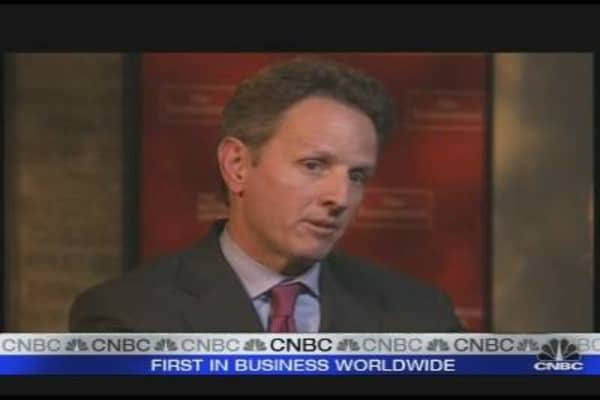 CNBC Exclusive: Geithner on the Dollar's Status