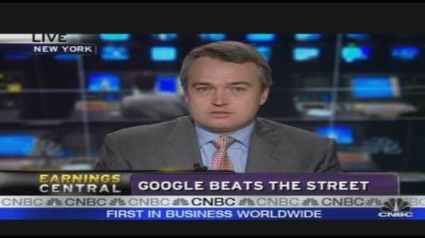 Google Beats the Street