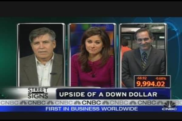 Upside of a Down Dollar