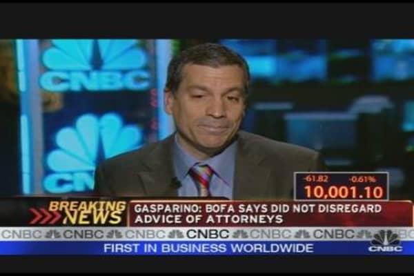 Gasparino on BofA Investigation