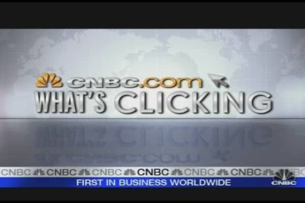 What's Clicking on CNBC.com