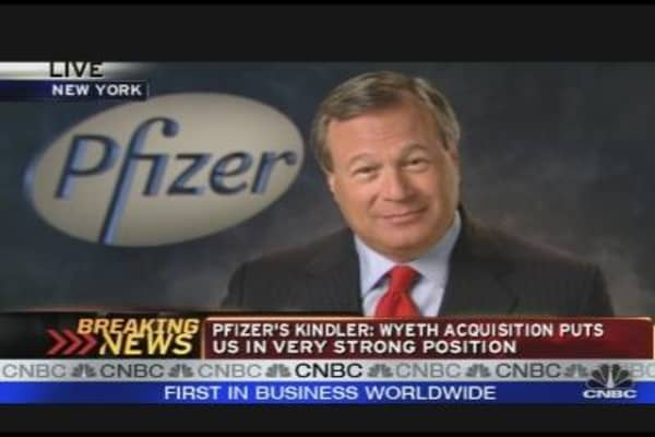 Pfizer CEO on Merger With Wyeth