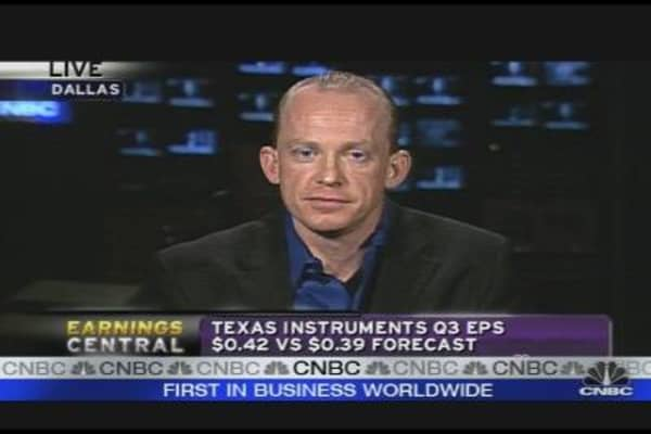 Texas Instruments Beats the Street