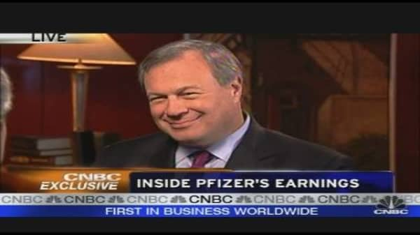 Pfizer CEO on Company's Pipeline
