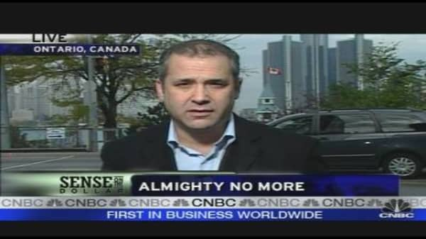 Dollar: Almighty No More?