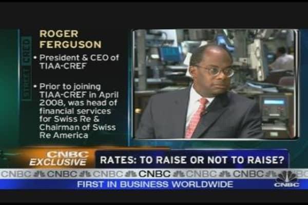 Ferguson: Rates and Retirement Reform