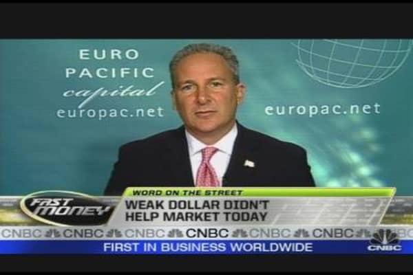Weak Dollar Strong Market?