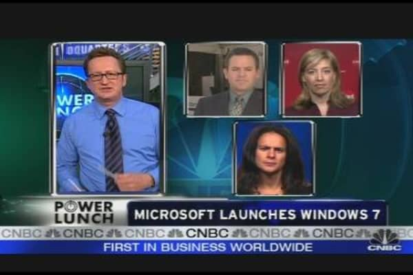 MSFT Launches Windows 7