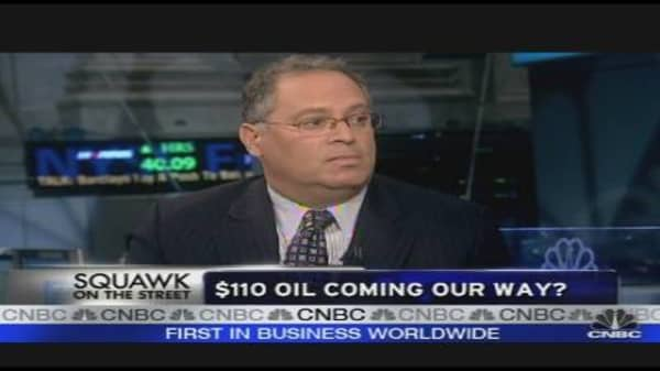 $110 Oil Coming Our Way?