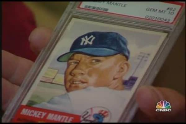 Sports Memorabilia: Top Collector Hits a Homer