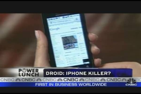 Droid vs. iPhone