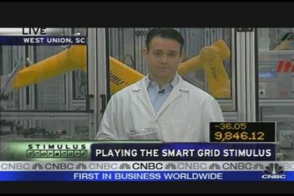 Playing the Smart Grid Stimulus
