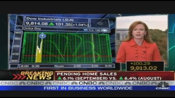 Pending Home Sales Rise Again