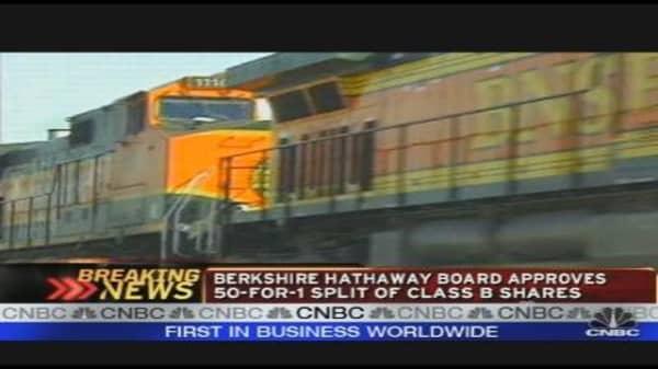 Analyst on Berkshire's Burlington Buy