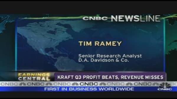 Kraft Earnings Analysis