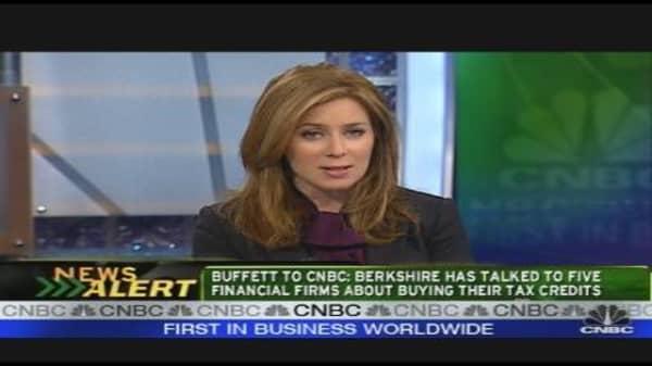 Buffett & Fannie Tax Credits