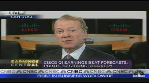 Chambers: Cisco Wants to be Global IT Leader